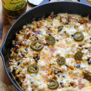 Easy Chicken Enchilada Dip