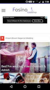 Fasino Weddings- screenshot thumbnail