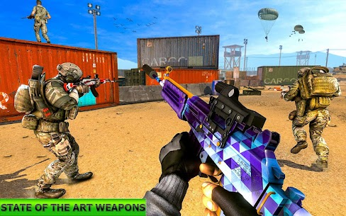 Real Terrorist Shooting Games: Gun Shoot War 2