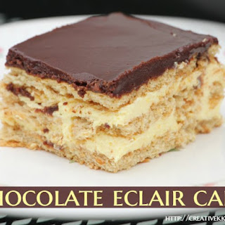 Chocolate Eclair Cake Recipe
