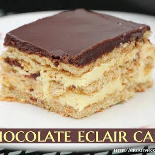 Chocolate Eclair Cake Dessert Recipes.