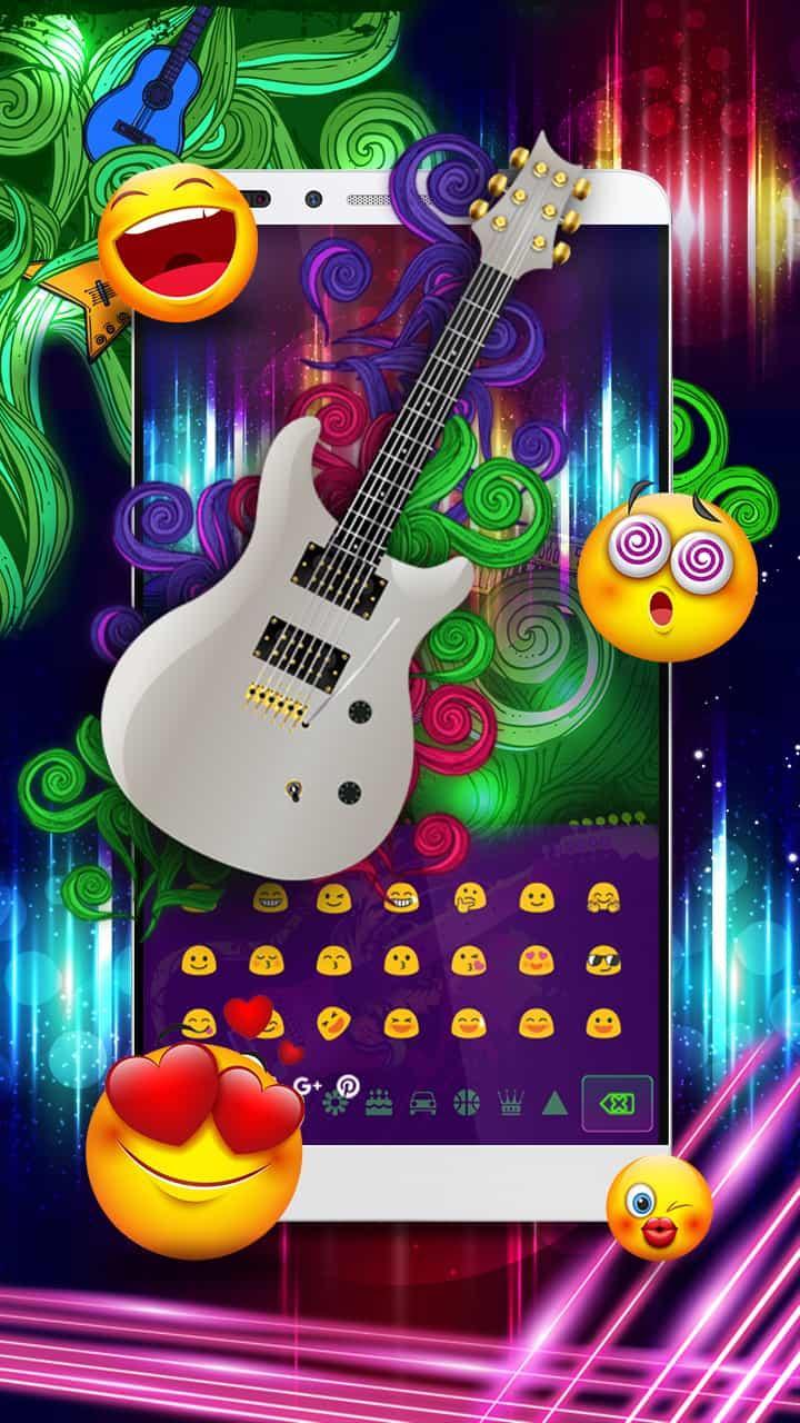 Скриншот Neon Guitar Keyboard