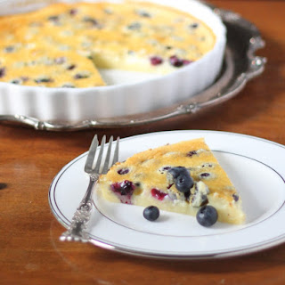 Blueberry Almond Calfoutis