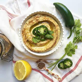 Mexican Taco Hummus (GF, DF, V, VF).