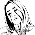 How to Draw Billie Eilish icon