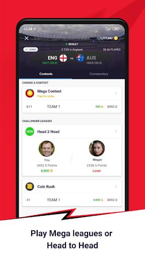 CricPlay - Play Fantasy Cricket & Make Predictions screenshots 3