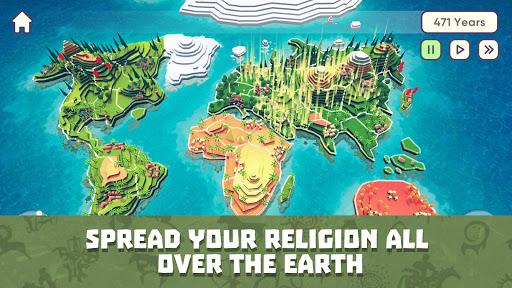 God Simulator. Sandbox strategy game Religion Inc. apkpoly screenshots 5