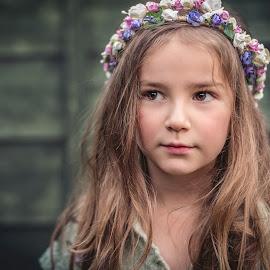 The girl by Lazarina Karaivanova - Babies & Children Child Portraits