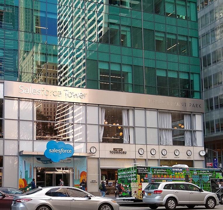 Salesforce Tower in New York