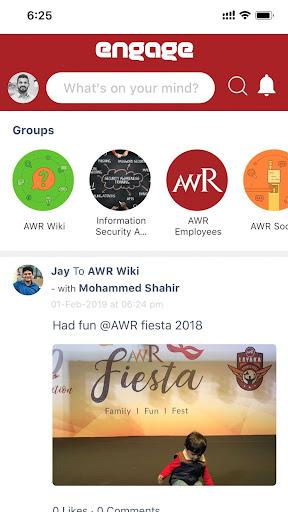 AWR Engage screenshots 2