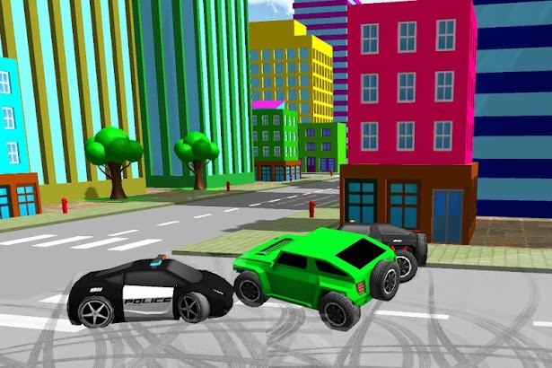 Toy Car Police Chase 3D screenshot