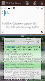 Multiline Calculator intuitive- screenshot thumbnail