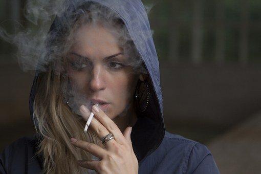 Woman, Smoking, Cigarette, Tobacco, Girl