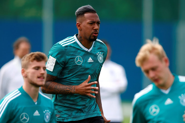 June 14, 2018 Germany's Jerome Boateng during training.