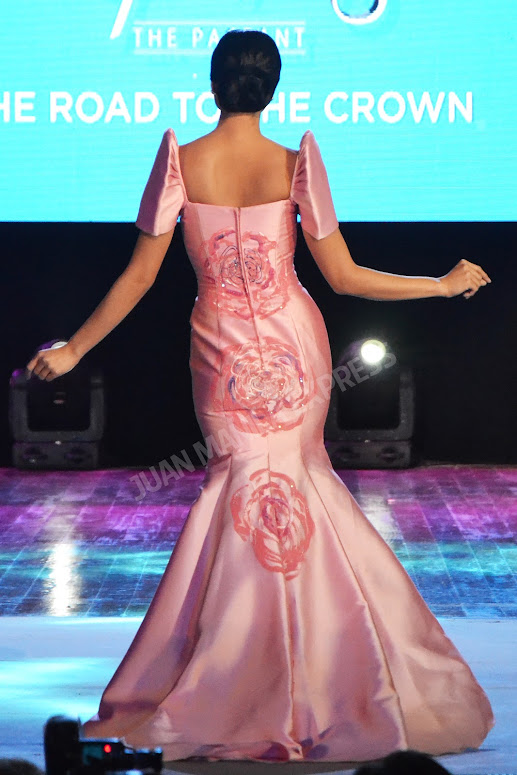 BB. PILIPINAS 2016 CANDIDATE NO. 29 MARIA MIKA MAXINE MEDINA DRESSED BY GEMMA BEREDO FOR THE NATIONAL COSTUME COMPETITION