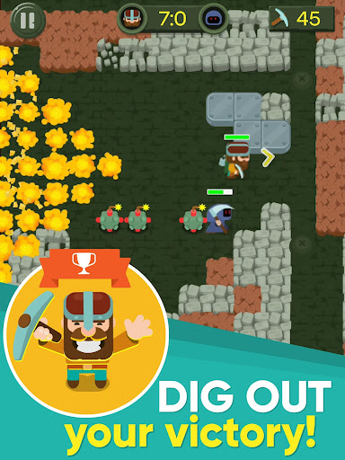 Dig Bombers: PvP multiplayer digging fight 3.3.3 screenshots 17