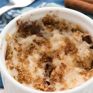 Single Serve Mug Coffee Cake.