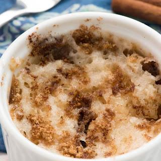 Single Serve Mug Coffee Cake.
