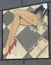 "Photo: Galerie 30Works; Kachel; XXXHIBITION ""Caution Wet Floor"""