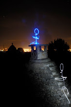 Photo: Alberobello II - Light painting by Christopher Hibbert, french photographer and light painter. Further information: http://www.christopher-hibbert.com