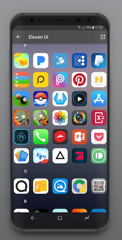 Download Eleven UI - IOS 12 Icon Pack APK latest version app