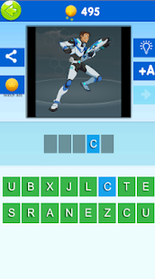 Quiz Voltron. Guess the character of Voltron 2