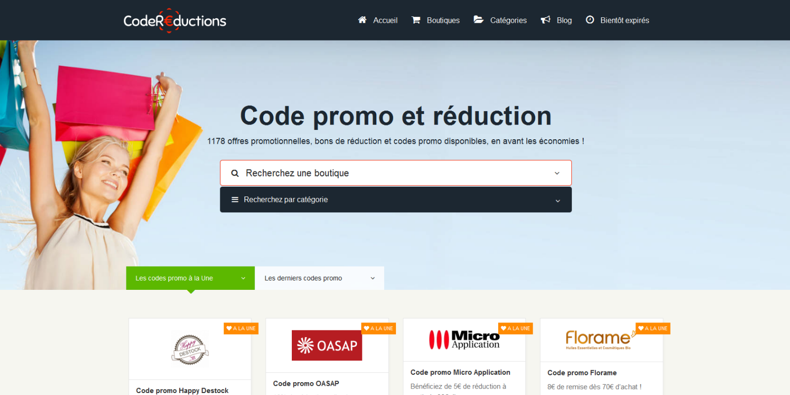 Couponer.fr - Code promo- screenshot
