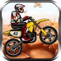 Mad Biker Stunt Hill Race icon