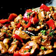 Curry Jerk Chicken on Rice