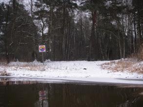 Photo: łoj, nie wolno się kąpać :)