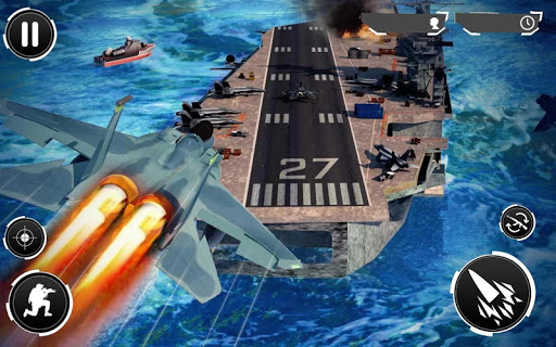 Navy Gunner Shoot War 3D  screenshots 4