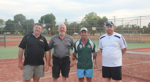 A-grade Champions: Wee Waa Bakery - Dean Holland, Rob Britton, Adam Hatton and Anthony Grey.
