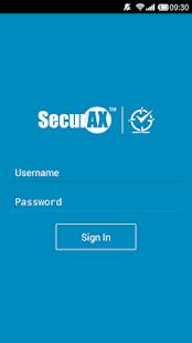 SecurTime - náhled