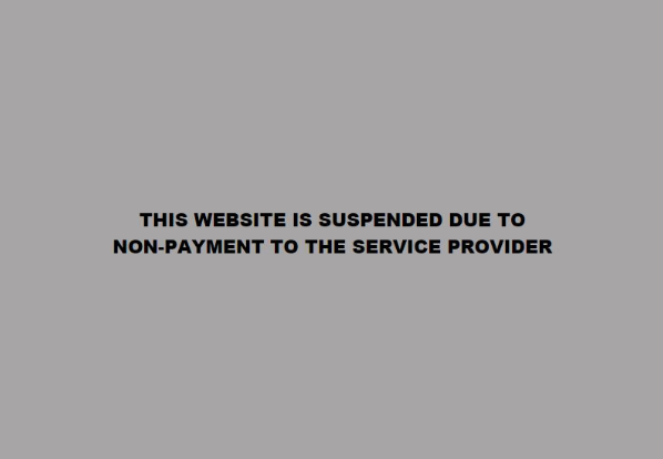 A screen grab of the notification on the ANC's website.