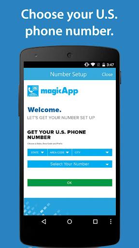 magicApp Calling & Messaging Screenshot