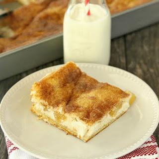 Crescent Apple Cheesecake