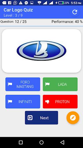 My Passion Car- Logo Quiz Game 2.7 screenshots 5