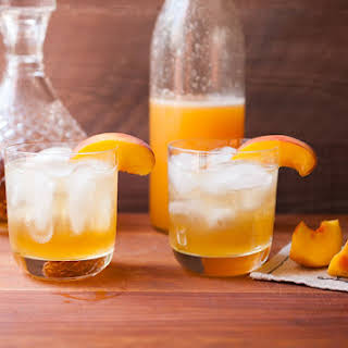 Easy Peach Cocktail Syrup.