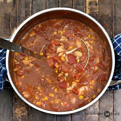 """Famous Alabama Camp Stew """"Either way you go, this is one of..."""