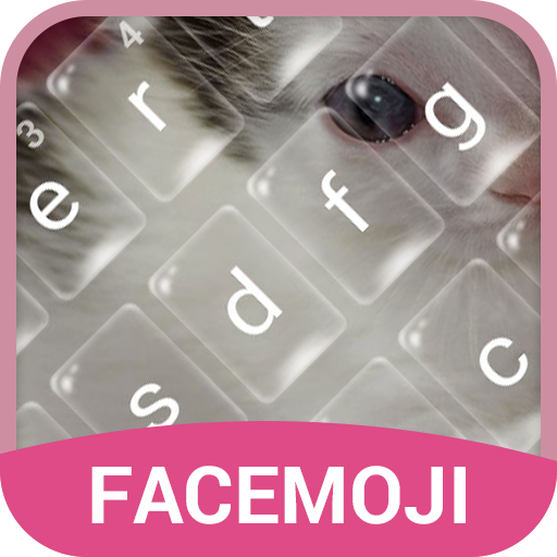 Lovely Kitten Bubble Keyboard Theme for Snapchat