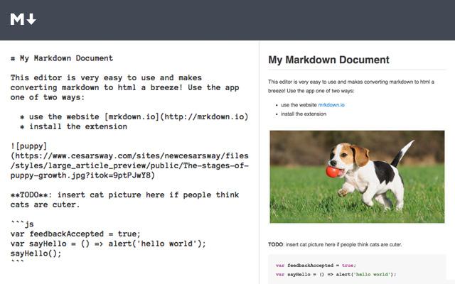 Mrkdown.io - Markdown Editor