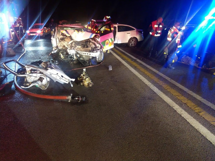 Three officers from the Tshwane Metro Police Department were killed during a collision as they pursued a suspected drunk driver in the early hours of Sunday. The circumstances of the crash are under investigation.