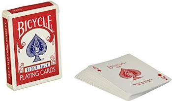 Blue Standard Bicycle Rider Back Playing Cards