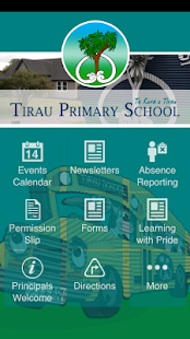 Tirau Primary School- screenshot thumbnail