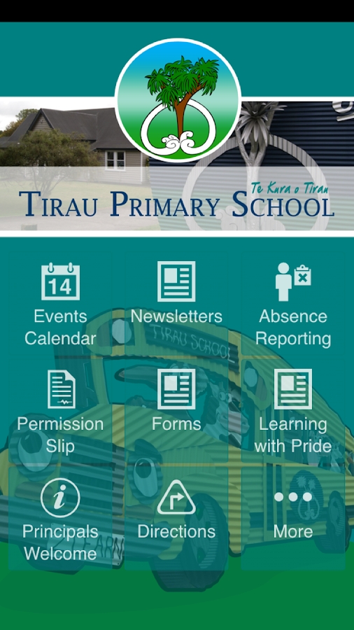 Tirau Primary School- screenshot