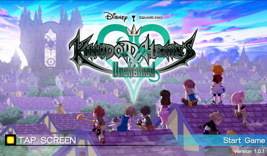 KINGDOM HEARTS Unchained x Imagen do Jogo
