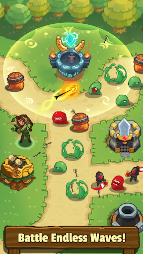 Realm Defense: Epic Tower Defense Strategy Game(Mod)
