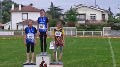 Photo: Julie 3e 1000 m Benjamines 1e Année