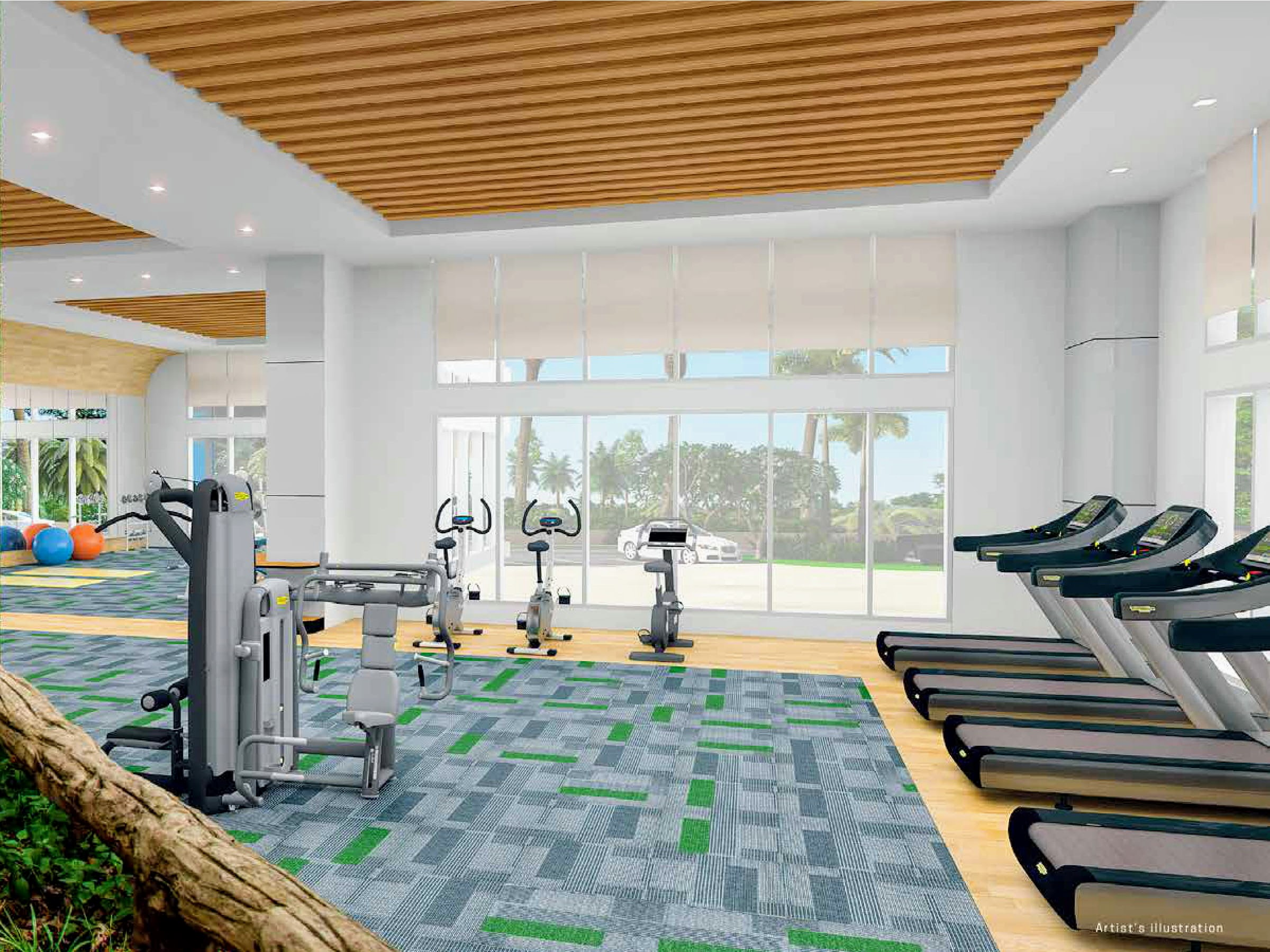 The Arton by Rockwell, Katipunan, Quezon City fitness gym