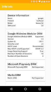 DRM Info - náhled